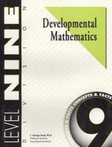 Developmental Math, Level 9, Educator's Guide