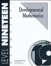 Developmental Math, Level 19, Geometry I