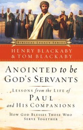 Anointed to Be God's Servants: How God Blesses Those Who Serve Together - eBook