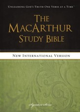 The MacArthur Study Bible, NIV - eBook