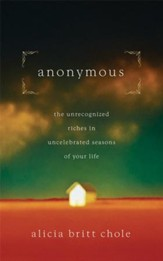 Anonymous: Jesus' hidden years...and yours - eBook