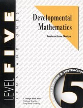 Developmental Math, Level 5, Educator's Guide
