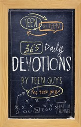 Teen to Teen: 365 Daily Devotions by Teen Guys for Teen Guys - eBook