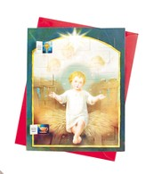 Holy Child Advent Calendar with Envelope