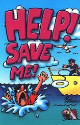 Help, Save Me, Pack of 25 Tracts
