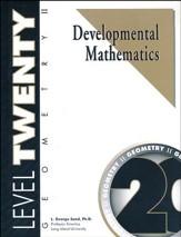 Developmental Math Level 20, Geometry II