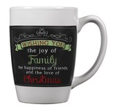 Wishing You Joy, Chalkboard Mug