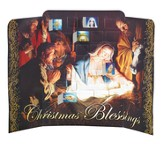 A Savior is Born Trifold Advent Calendar