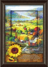 Rise and Shine, Sunflower Framed Art