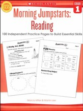 Morning Jumpstarts, Reading Grade 1: 100 Independent Practice Pages to Build Essential Skills