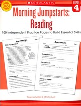 Morning Jumpstarts, Reading Grade 4: 100 Independent Practice Pages to Build Essential Skills