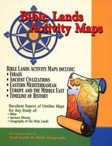 Bible Lands Activity Maps (Paper)