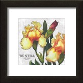 Be Still And Know, Floral Framed Art, Psalm 46:10