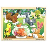 Playful Pets Jigsaw Puzzle (12 pc)