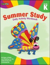 Summer Study Daily Activity Workbook: Grade K