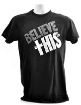 Believe This, Josh Hamilton Shirt, Black, Extra Large