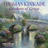 2016 Gardens of Grace Wall Calendar
