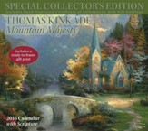 2016 Thomas Kinkade Collector's Edition Deluxe  Wall Calendar