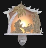 Holy Family Glitter Nightlight