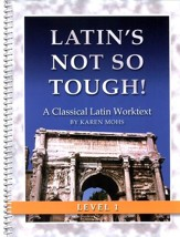 Latin's Not So Tough! Level 1 Workbook