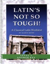 Latin's Not So Tough! Level 2 Full Text Answer Key