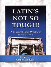 Latin's Not So Tough! Level 4 Full Text Answer Key  --Slightly Imperfect