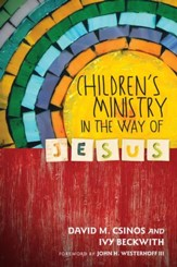 Children's Ministry in the Way of Jesus - eBook