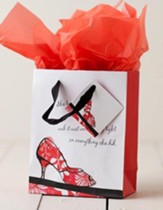 Walk By Faith Gift Bag, Small