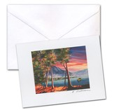 Lake At Dawn Card and Envelope