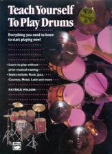 Teach Yourself to Play Drums, Book & Compact Disc