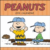 2016 Peanuts Mini Wall Calendar