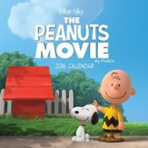 2016 Peanuts Movie Mini Wall Calendar
