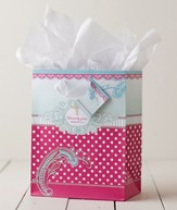 So True Polka Dot Gift Bag, Medium