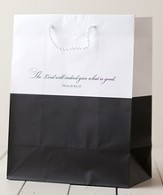 The Lord will Indeed Give Gift Bag, Black, Large