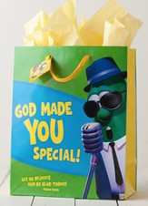 God Made You Special Veggietales Gift Bag, Large