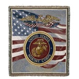 United States Marine Throw