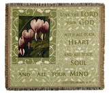 Love the Lord Your God Throw