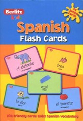Berlitz Kids Spanish Flashcards