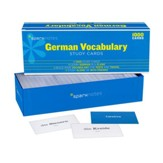 German Vocabulary SparkNotes Study Cards