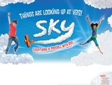Sky Publicity Posters, Package of 5