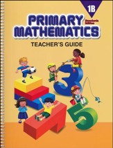Primary Mathematics Teacher's Guide 1B (Standards Edition)