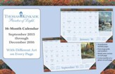 2016 Painter of Light Desk Pad Calendar