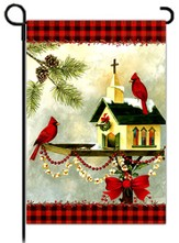 Christmas in the Garden Flag, Small