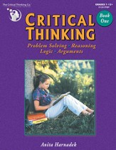 Critical Thinking, Book 1, Grades 7-12