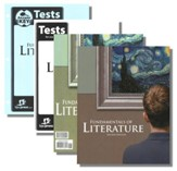 BJU Fundamentals of Literature Grade 9 Homeschool Kit  (Second Edition)