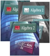 AGS Math Algebra 2 Homeschool Bundle