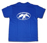 Duck Commander Shirt, Blue, Youth Medium
