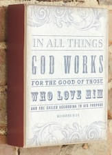 In All Things God Works Plaque