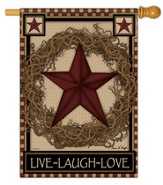 Star Wreath Flag, Large