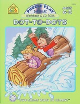 Puzzle Play Dot-to-Dot Workbook and CD-ROM